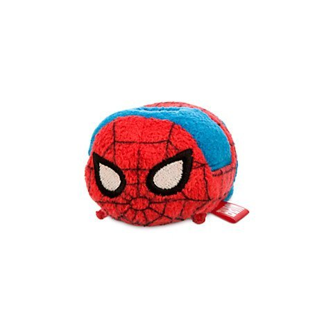 New Disney Store Mini 3.5 (S) Tsum Tsum Spider-Man Plush Doll (Marvel Collection) by Disney