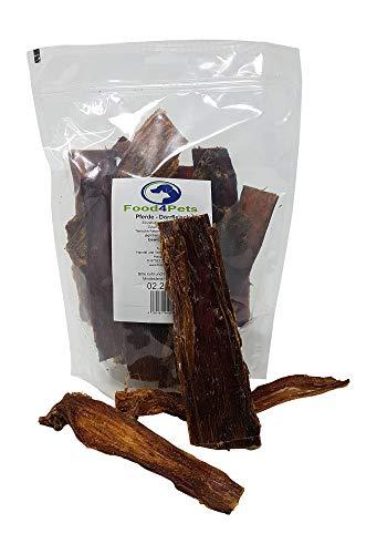 Food4Pets Pferde Dörrfleisch Hundeleckerli 250g - im wiederverschließbaren Beutel