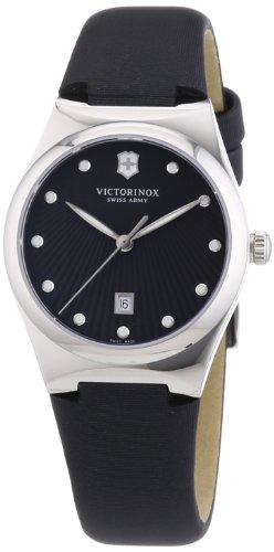 Victorinox Swiss Army - 241636 - Montre Femme - Quartz Analogique - Aiguilles lumineuses - Bracelet Tissu Noir