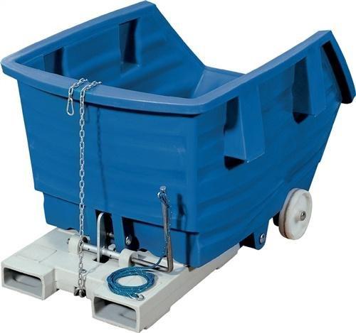 Kipp-Behälter PE, BLAU, Typ KW 1 (Kipp-behälter)