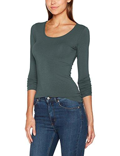 ONLY Damen Onllive Love New LS O-Neck TOP NOOS Langarmshirt, Grün Balsam Green, 42 (Herstellergröße: XL)