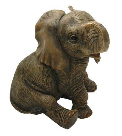Lesser & Pavey - Figura decorativa (17 cm), diseño de elefante