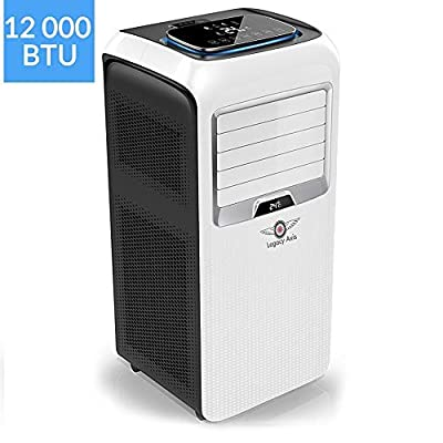 Legacy Axis PAC OL-KYR12-A5 4 -In -1 Portable Air Conditioning Unit with Cooling, 3 Speed Fan, Heating, Dehumidifier Function, Mobile Air Conditioner With Remote Control and [Energy Class A+] Rating