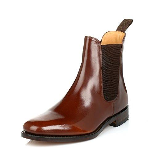 loake-hommes-marron-290t-polished-chelsea-bottes-uk-6