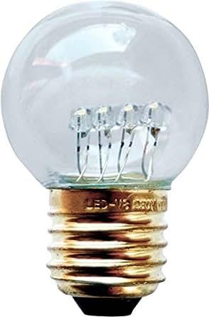 scharnberg 4199857376A +, ampoule LED E27Retrofit, verre, 6W, GU10, blanc, 13x 8x 7cm