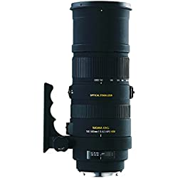 Sigma 150-500/5,0-6,3 DG APO HSM OS - Objetivo para Nikon (Distancia Focal 150-500mm, Apertura f/6.3-22, estabilizador) Color Negro