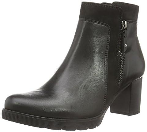 Gabor Shoes 55.783 Damen Kurzschaft Stiefel, Schwarz (Schwarz 27), 37 EU (4 Damen UK)