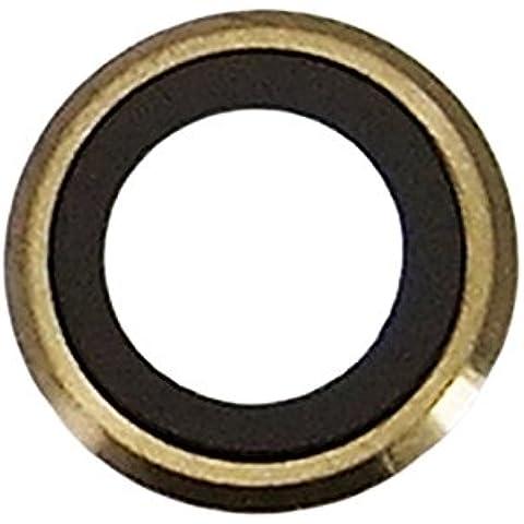 Goliton? Nueva C¨¢mara trasera de la lente de la c¨¢mara trasera lente de cristal pieza de recambio del marco para el iPhone 6 Plus 5.5 pulgadas - Oro