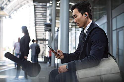 Shure SE215SPE-B-BT1-EFS Bluetooth In-Ear Kopfhörer mit passiver Geräuschunterdrückung für iOS & Android - Premium Ohrhörer mit warmem & detailreichem Klang - Special Edition: Blau - 6