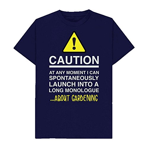 Caution - at Any Moment I Can Monologue About. Gardening - Hobbies - Tshirt - Shaw T-Shirts® - Sizes Small to 2XL