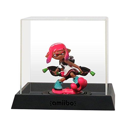 Hori Box Für Amiibo Transparent (Figur Nicht Enthalten) Große Größe (Innenmaße W106xH88xD93mm)