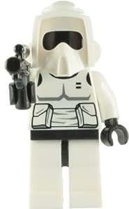 LEGO Star Wars: Biker Scout Trooper Mini-Figurine Avec Blaster Rifle