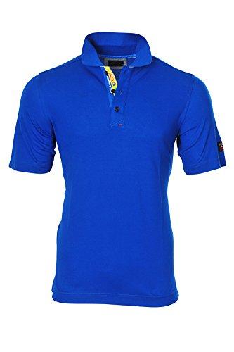Paul & Shark Polo Poloshirt Einfarbig Blau XL