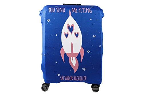 Salvador Bachiller - Funda Universal Flying Compl Viaj Lgz1704 Azul L