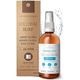 Argento colloidale premium 40 ppm 100 ml ● Formula a concentrazione ottimale, particelle più piccole, risultati migliori…