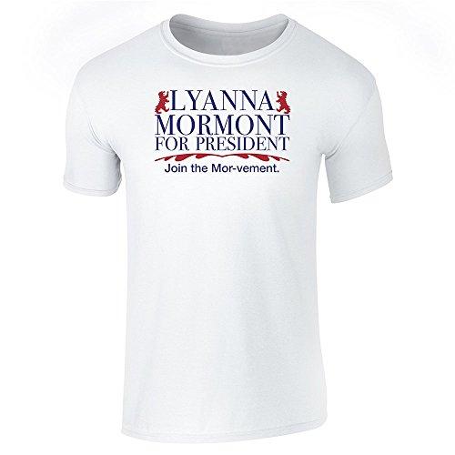 Pop Threads Herren T-Shirt Weiß - Weiß