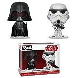Funko 31616 VYNL 10,2 cm 2er-Pack: Star Wars: Darth Vader & Stormtrooper (Empire Strikes Back), Multi