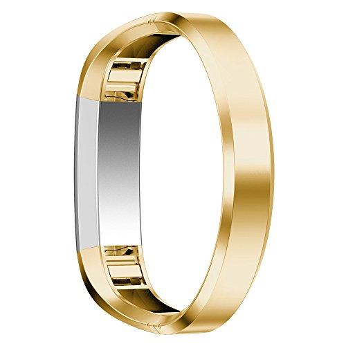 Xihama Armband für Fitbit Alta HR und Alta, Band, Gurt, Armreif, verstellbar, Ersatz-Sportband für Fitbit Alta und Alta HR Smartwatch Fitness-Armband, gold
