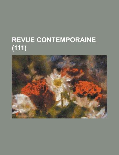 Revue Contemporaine (111)