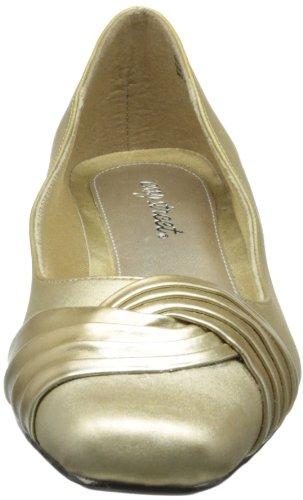Têxtil Alto Rua Fácil Sapatos Ouro Salto Maré Rodada RqrtXzrw