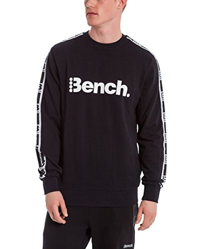 Bench Herren Crew Neck Sweatshirt Black Beauty