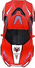 TEENA'S Flash Racing CAR AUTO Open Doors and 360 DIGREE Rotation (Colours May Vary)