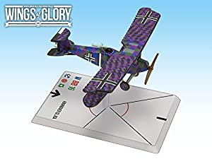 Wings of Glory Juego Mat: Coast AREWGF208B Hannover CL.IIIA (Baur/Von Hengl), Multicolor