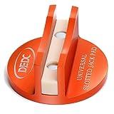 Bloque Gato Coche Mágnetico DEDC Taco Jack Pad Protector para Gatos de Carretilla de Metal con Ranura para Elevadores Gatos Protección de Vehículos