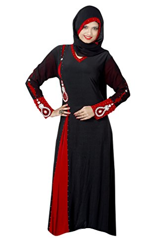Viva N Diva Black Colored Lycra Abaya Burkha For Women.