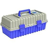 Cassetta degli attrezzi Caja de herramientas eléctrica de gran tamaño Caja de herramientas plegable de tres capas de plástico para el hogar