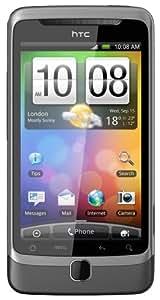 HTC Desire Z Smartphone (9.4 cm (3.7 Zoll) Touchscreen, 5MP Kamera, Android 2.2 OS, QWERTZ-Tastatur, HSPA, ohne Branding ) Tungsten Grey