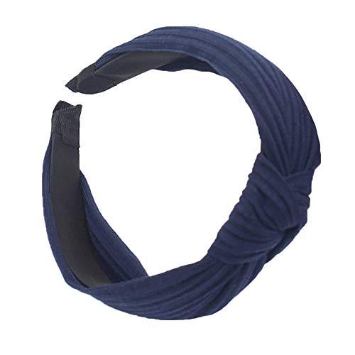 JenK Cing Damenmode Stirnband Haarband Bogen Knoten