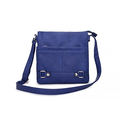 Craze London, Borsa a tracolla donna M Dark Blue