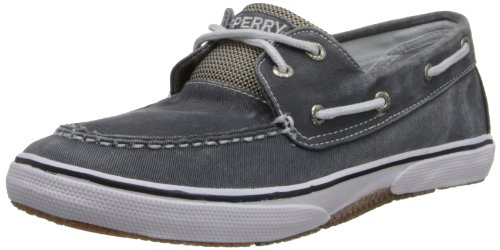 Sperry Kids HALYARD YB38684A Jungen Sneaker, Blau (NAVY), EU 32.5(UK 13.5)(US 1) (Schuhe Sperry Jungen)