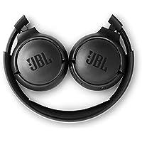 JBL Tune500BT - Casque supra-auriculaire - Léger et pliable - Écouteurs Bluetooth sans fil - Avec commande mains libres - Autonomie jusqu'à 16 hrs - Noir