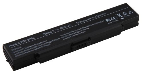 4800mAh batterie de remplacement ordinateur portable notebook pour Sony Vaio VGN-AR VGN-C VGN-FE VGN-FJ VGN-FS VGN-FT VGN-N VGN-S VGN-SZ VGN-Y. remplace VGP-BPS2C VGP-BPL2 VGP-BPS2