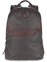 Piquadro Coleos Backpack Leather 36 cm Notebook Compartment