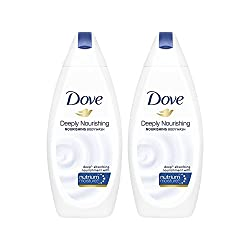Dove Deeply Nourishing Body Wash, 190ml (Pack of 2)