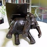 XX&GXM Elefant-Palast Vintage Obstschale Handwerk Bonbon Schüssel Snacks wie Leuchter südostasiatischen Stil