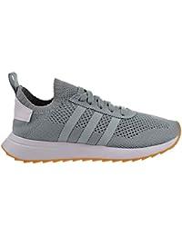 adidas Primeknit Flashback FLB Blanc Et Vert, Chaussures de Course pour Femme, Sneaker, Traines. (37 EU, Tactile Green)