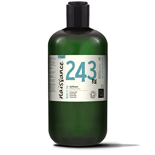 Naissance Cártamo BIO - Aceite Vegetal Prensado en Frío 100% Puro - Certificado Ecológico- 500ml