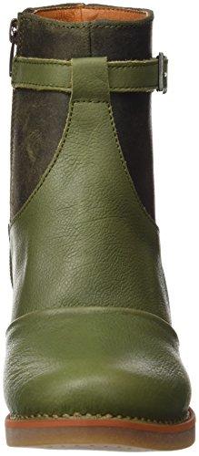 Art Damen St.Tropez Kurzschaft Stiefel Grün (Memphis-wax Kaki)