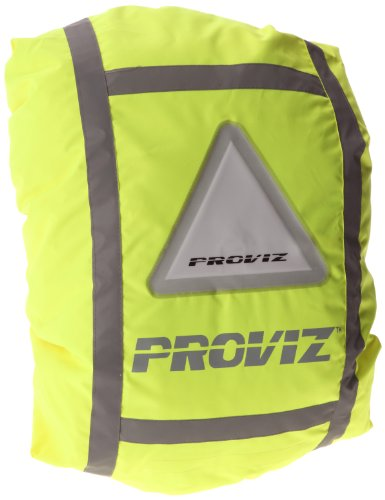 Proviz Luminescent Rucksack Cover- Yellow
