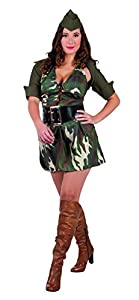 Boland - Disfraz para Mujer Soldado (83587)