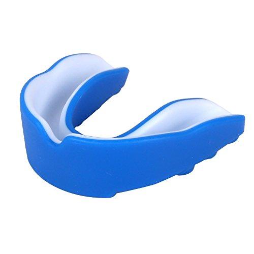 Sport Zahnschutz für Erwachsene und Kinder – Single selbst anformbar Mundschutz für Handball, Karate, Rugby, Hockey, MMA, Boxen, American Football, Basketball