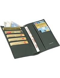 Lucrin - Brieftasche und Kreditkartenetui - Glattleder