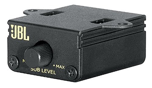 JBL Car RLC Auto-Hifi Kabelfernbedienung zur Steuerung des Basspegels Kompatibel mit JBL GTO Serie Endstufen Verstärker - Schwarz