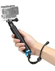 """SHOOT 19"""" Bastone Selfie Telescopico Monopiede Pole per GoPro Hero 6/5/4/3+/3/HERO(2018)/Fusion DBPOWER Apeman Campark WiMiUS YI CAMKONG e Altre Fotocamere Accessori"""