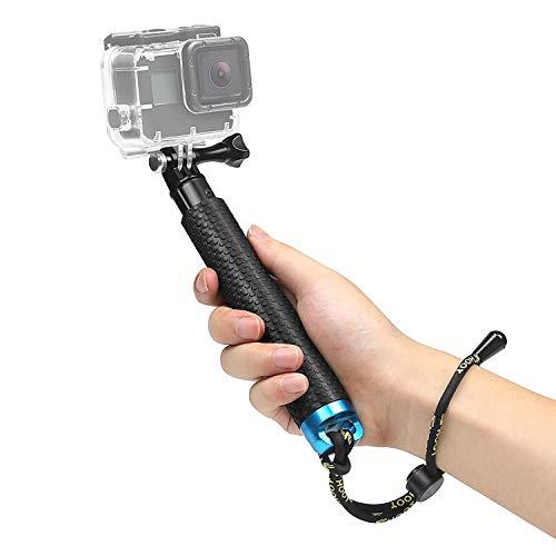 Descripción:1. La alcance de la longitud de eslasticidad del palillo autofoto es de 19cm a 49cm. Es resistente al agua, ligero y fácil de llevar 2. Con un husillo largo y el adaptador, sólo basta con instalar la cámara directamente en lo anterior, co...