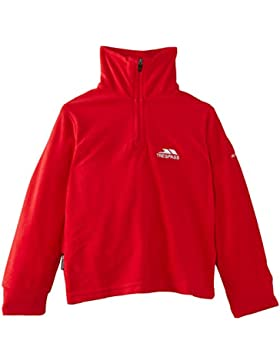 Trespass Masonville Microfleece AT100 Forro polar, Niños, Rojo (Red), 3/4